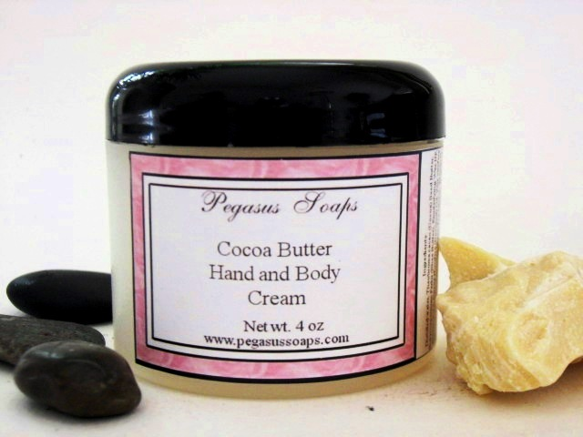 Cocoa Butter Hand and Body Cream 4 oz You Pick Your Scent