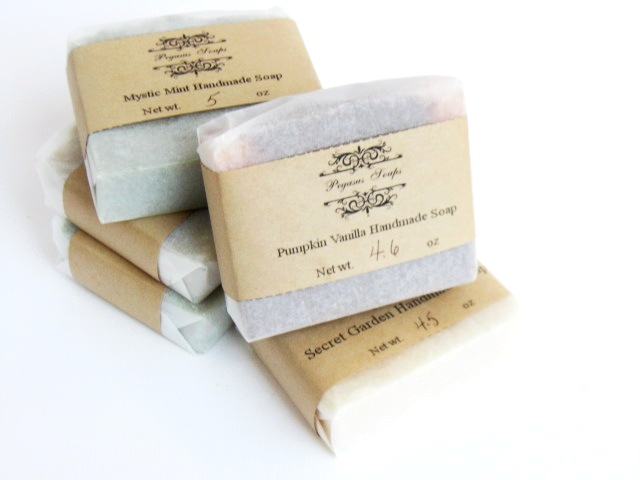 Select 5 Bars of Handmade Cold/Hot ProcessSoaps